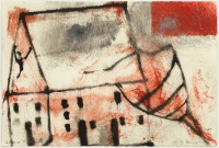 Hughie O'Donoghue, Day of the Fire I, 2011, monotype, 37 x 55 cm, € 2,900