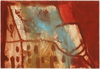 Hughie O'Donoghue, Day of the Fire VI, 2011, monotype, 37 x 55 cm, € 2,900