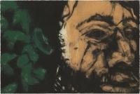 Hughie O'Donoghue, Green Man (C) II, 2011, monotype, 37 x 55 cm, € 2,900