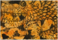 Hughie O'Donoghue, Lion and Snake II, 2011, monotype, 37 x 55 cm, € 2,900