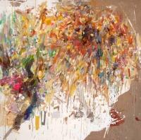 Helen O'Leary, Outawack, egg oil on linen, 183 x 18c cm, 2012, €7,800