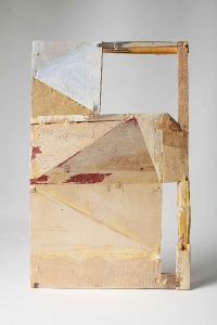 Helen O'Leary, Concealed intentions, wood construction and egg oil, 2013, € 1,300