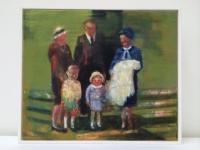 Oonagh Hurley, Through a Lens I, acrylic on canvas, 10 x 12