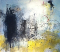 Karen Hendy, What Cannot Be, mixed media on paper, 47 x 53 cm, 2012, €1,600