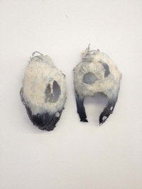 Kate MacDonagh, Chorus iii (set of two), mixed media, 40 x 20 cm, 2013, €700