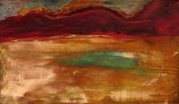 Heidi Nguyen, Midsummer, oil on board, 14.5 x 24.5 cm cm, €420