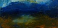 Heidi Nguyen, Small Mountain Lake, oil on board, 9.5 x 19.5 cm, €395