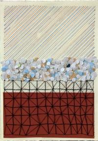 Tom Dalton, Soft Set, mixed media on paper, 19 x 13 cm, 2013, €250