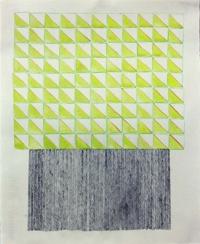 Tom Dalton, Stacks, coloured pencil, graphite, watercolour on paper, 35 x 28 cm, 2013, €350
