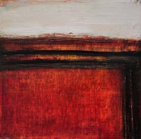 Zita Reihill, Personal Fixations, mixed media on canvas, 30.5 x 30.5 cm, €750