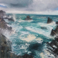 Neal Greig, Malinbeg I, oil on canvas, 110 x 100 cm, 2014, € 2,600