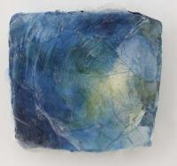Leonard Sheil, Tidal Series VI, mixed media on board, 28 x 32 cm, 2013-14
