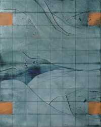 Charles Tyrrell, A5.13, oil on aluminium, 50 x 40 cm, 2013, €3,400