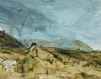 Joe Wilson, Ben Brack series no 7, oil on primed Fabriano, 2014