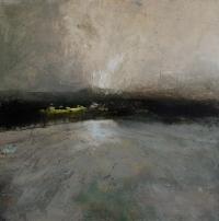 Carol Hodder, First Light, oil on canvas, 60x60cm, 2015
