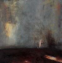 Carol Hodder, Land Marks, oil on canvas 2015 60x60cm