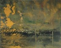 ConorGallagher, River Light, oil on canvas, 40x50cm, 2015