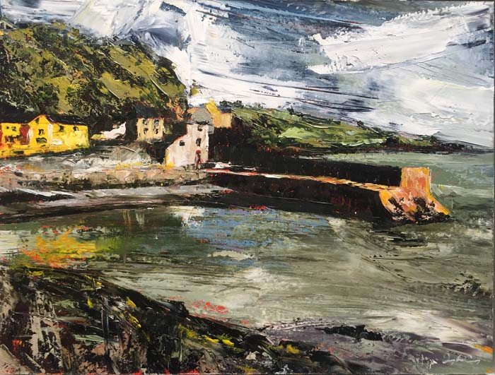 Donagh Carey, The Pier, Glandore