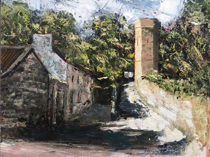 Donagh Carey, Tower, Castletownshend