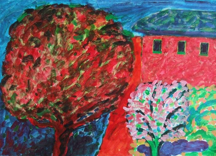 William Crozier, Red Tree Red House