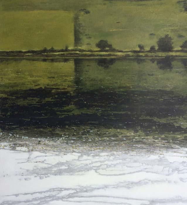 Janet Murran, Reflections, Ilen River 1