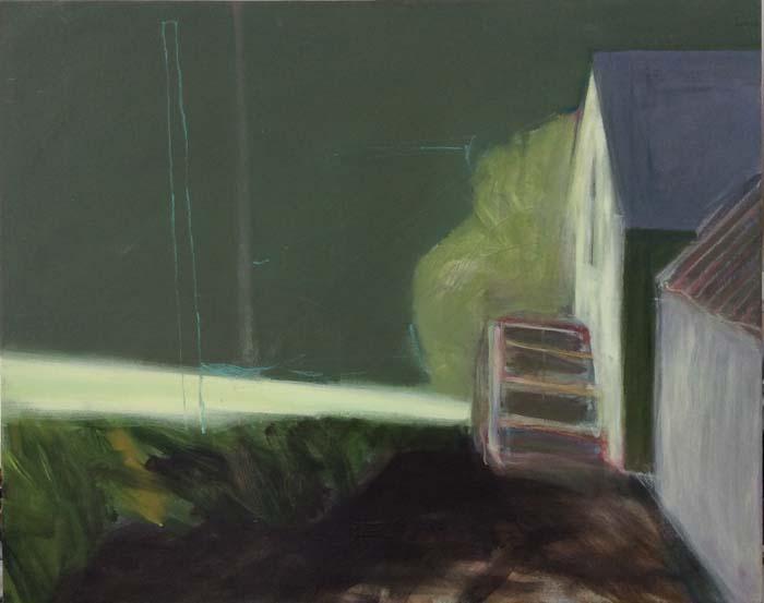 Katherine Boucher Beug, Farmyard Green Sky