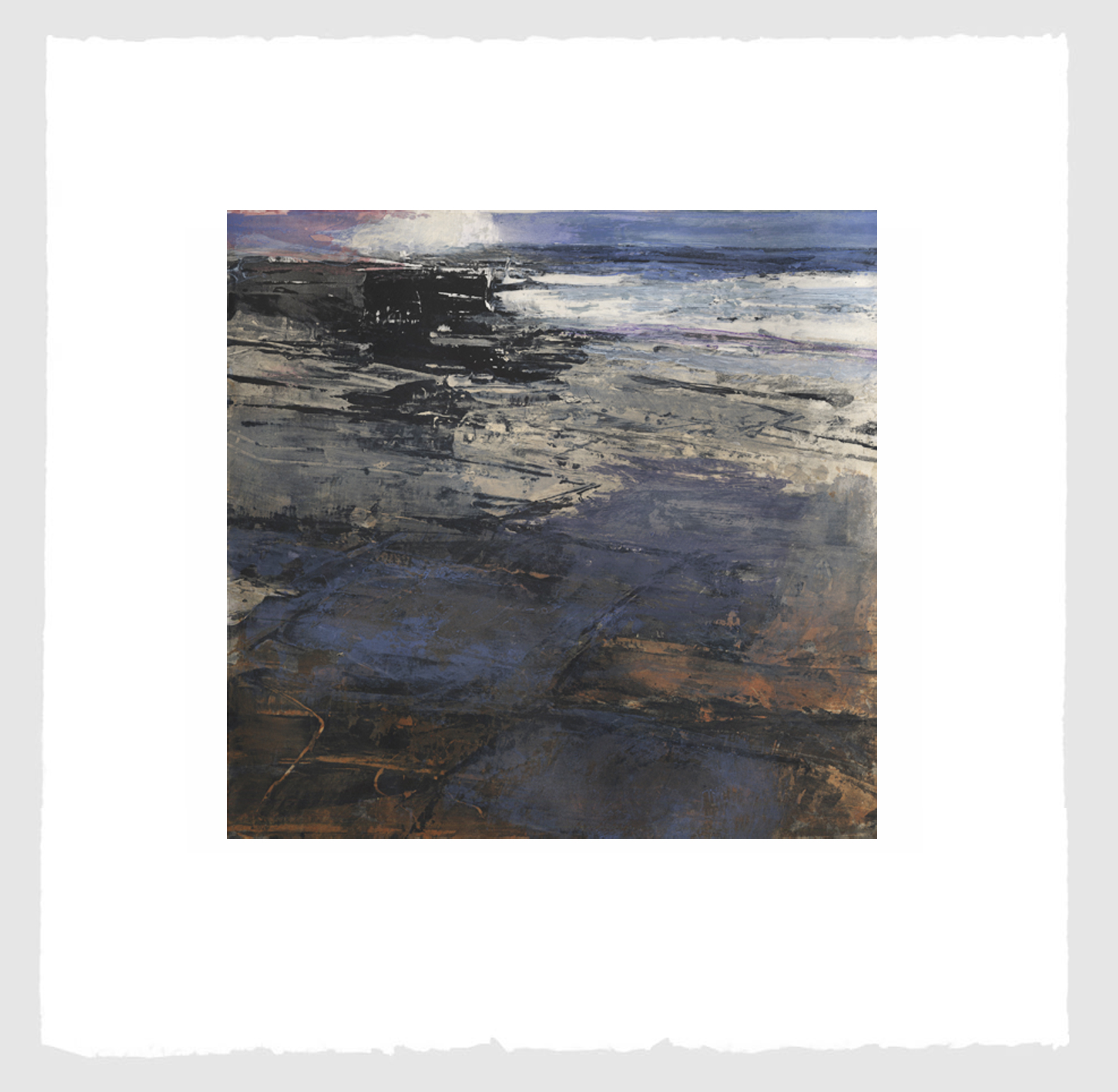 Teskey, Fractured Shoreline V