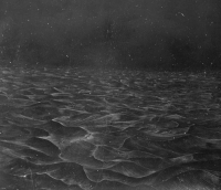 Alan Counihan, Origin 2, unique etching on Kilkenny black limestone, 37 x 45 x 10 cm, 2012, € 1,100
