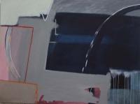 Katherine Boucher Beug, Round, Down & Under, acrylic on canvas, 114 x 152 cm, 2013, € 7,000