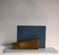 Katherine Boucher Beug, Voyager, mahogany & birch ply, 16 x 48 cm, 2013, € 1,500