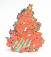 Cormac Boydell, Orange Skellig, handmade glazes on clay, 30 x 23 x 6 cm, 2010, SOLD