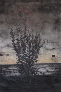 Michael Canning, Drawing I, charcoal & mixed media on paper, 218 x 148 cm, 2012, €12,000
