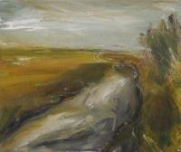 Mary Canty, Autumn River, oil on canvas, 25 x 30 cm, 2014