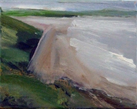 Mary Canty, Beach, oil on canvas, 20.5 x 26 cm, 2014