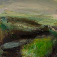 Mary Canty, Mist Falling, oil on canvas, 70 x 70 cm, 2008, SOLD