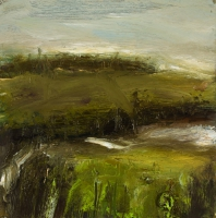 Mary Canty, Stream, oil on canvas, 30 x 30, 2008 SOLD