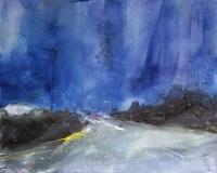Patricia Burns, Townland 1, oil on canvas, 40 x 50 cm, 2013, €1,400