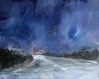 Patricia Burns, Townland 2, oil on canvas, 40 x 50 cm, 2013, €1,400