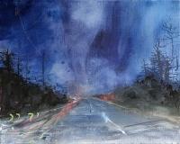 Patricia Burns, Townland 4, oil on canvas, 40 x 50 cm, 2013, €1,400