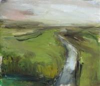 Mary Canty, An Abhainn Beag--The Little River, oil on canvas, 34 x 39 cm, 2013, €1,450