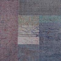 Tim Goulding, Unravel 12, acrylic & conte pencil on canvas, 29 x 29 cm, 2013, €1,250