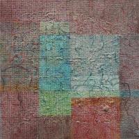 Tim Goulding, Unravel 13, acrylic & conte pencil on canvas, 40 x 40 cm, 2013 €1,650