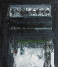 Eddie Kennedy, Wintering, oil on linen, 36 x 32 cm, 2013, €1,800