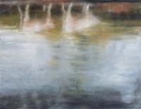 Bernadette Kiely, Riverbank, the Quay II, oil on canvas, 35 x 46 cm, 2011, €1,700