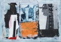 John Kingerlee, Pen, paper collage & mixed media, 21 x 31 cm, 2011, €775