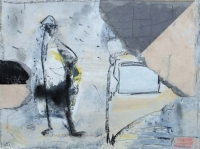 John Kingerlee, Pirate, paper collage & mixed media, 25 x 33 cm, 2012, €850