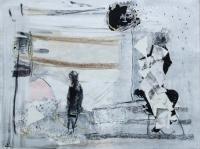 John Kingerlee, Eclipse, paper collage & mixed media, 25 x 33 cm, 2012, €850