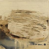 Sioban McDonald, Core, mixed media on canvas, 40 x 40 cm, 2012, SOLD