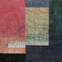 Tim Goulding, Unravel 18, acrylic & conte pencil on canvas, 40 x 40 cm, 2013, €1,650