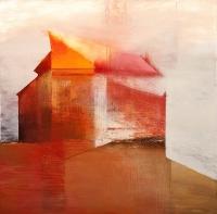 Tom Climent, Moth, oil & acrylic on canvas, 153 x 153 cm, € 9,000